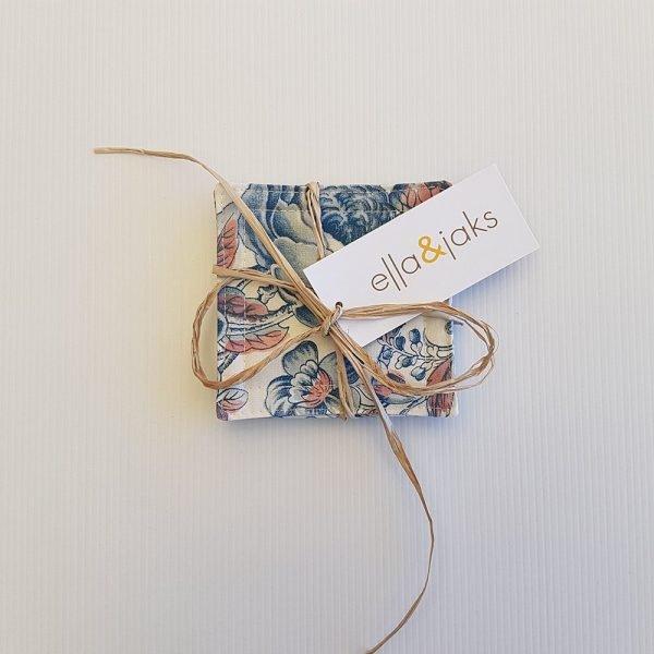 Blue Blooms Set | Coasters | ella & jaks