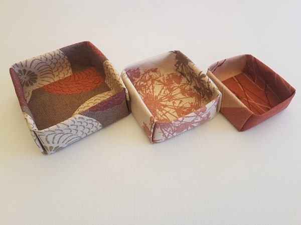Burnt Sunset Fabric Boxes   ella & jaks   Handmade Designs for your Home