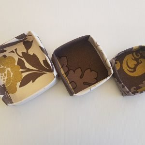 Choc Lime Fabric Boxes | ella & jaks | Handmade Designs for your Home
