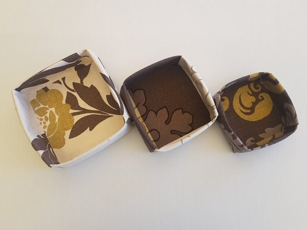 Choc Lime Fabric Boxes   ella & jaks   Handmade Designs for your Home