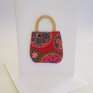 Kaleidoscope Handbag Card | ella & jaks | Handmade Designs for your Home
