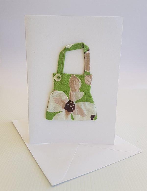Lime Orchid Handbag Card | ella & jaks | Handmade Designs for your Home