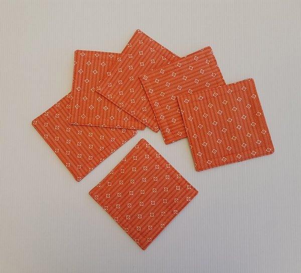 Orange Knot Back | Coasters | ella & jaks