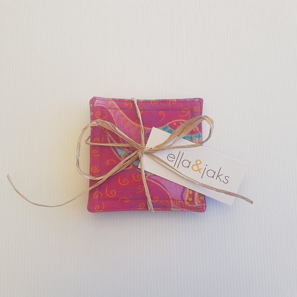 Pink Elephant Set   Coasters   ella & jaks