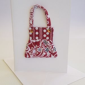 Red & White Delight Handbag Card | ella & jaks | Handmade Designs for your Home