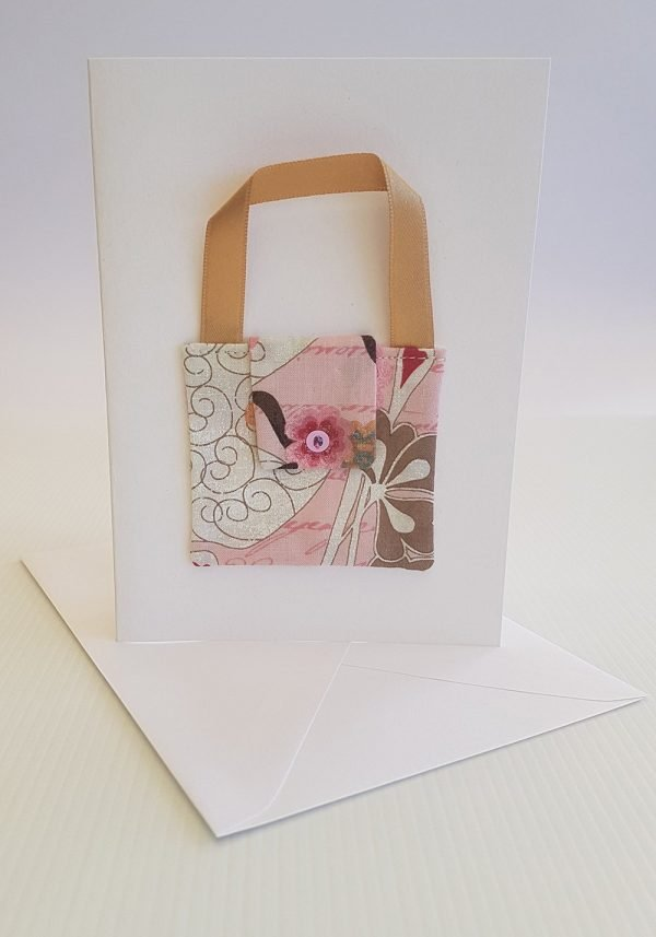Rosy Pink Handbag Card | ella & jaks | Handmade Designs for your Home
